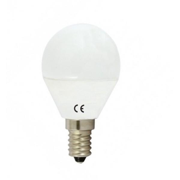 Lámpara LED Esferica E14 9W Opal