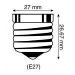 Lámpara LED Standard A60 E27 24V DC 10W