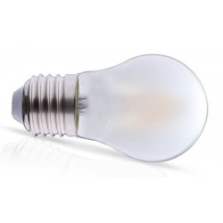 Lámpara LED Esferica Mate Glass E27 2W Filamento 2700ºK