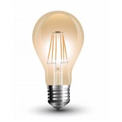 Lámpara LED Standard Gold E27 Filamento 4W 440lm