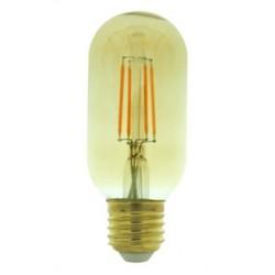 Lámpara LED Tubular T38 Gold E27 4W Filamento