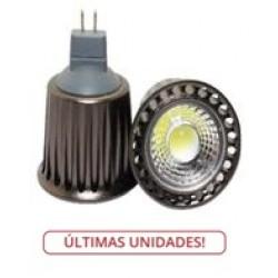 Lámpara LED GU5,3 MR16 COB 5W
