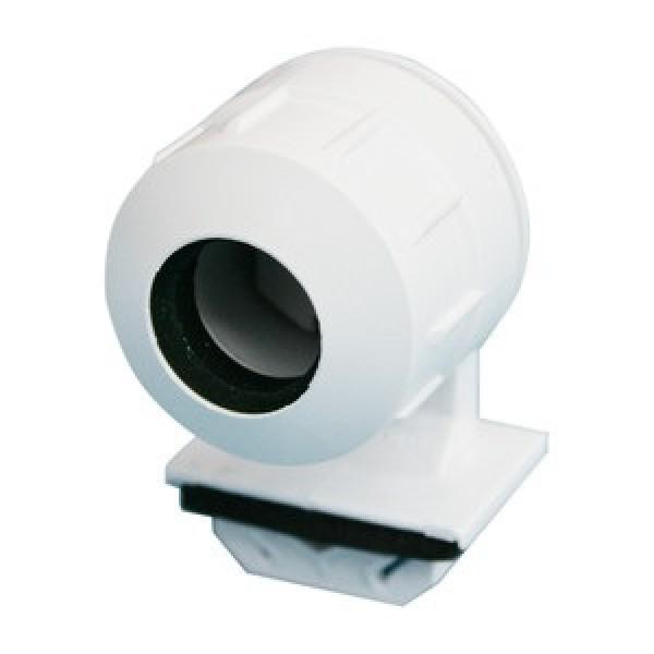 Portalámpara estanco para tubo LED o fluorescente T5, fijación presión