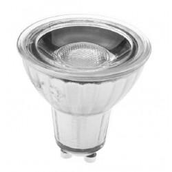 Lámpara LED GU10 COB Cristal 6W 40º Retro CRI90