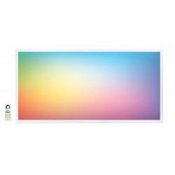 Panel LED 600X1200mm 65W Marco Blanco RGB+CCT