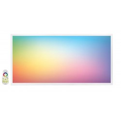 Panel LED 600X1200mm 65W Marco Blanco RGB+CW