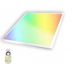 Panel LED 600X600mm 40W Marco Blanco RGB+CW Regulable