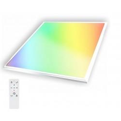 Panel LED 600X600mm 40W Marco Blanco RGB+CW