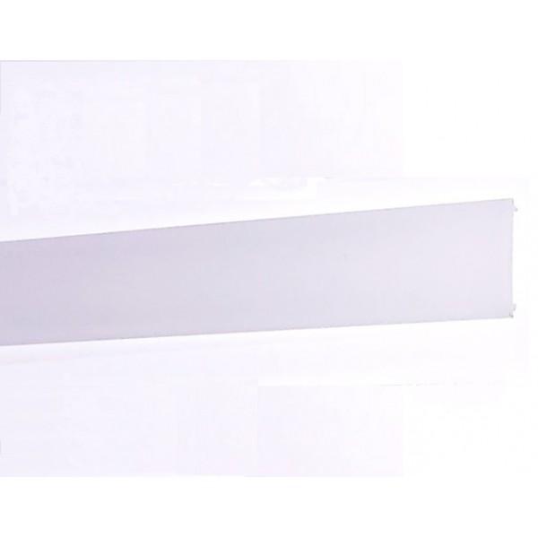 Difusor Glaseado para perfil aluminio anodizado Certificado, DG5, tira 6 mts.