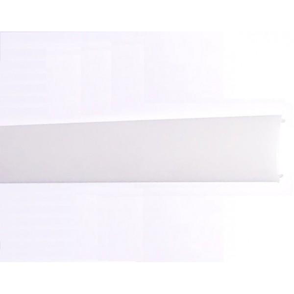 Difusor Opal para perfil aluminio anodizado Certificado, DO5, tira 2 mts.