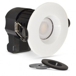 Foco Downlight LED Redondo Ø90mm 7w CCT y acabado Selecionable IP65