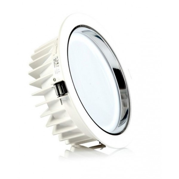 Downlight LED Redondo Técnico 36W, corte 200mm