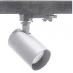 Foco Gris Carril LED trifasico, Lámpara GU10