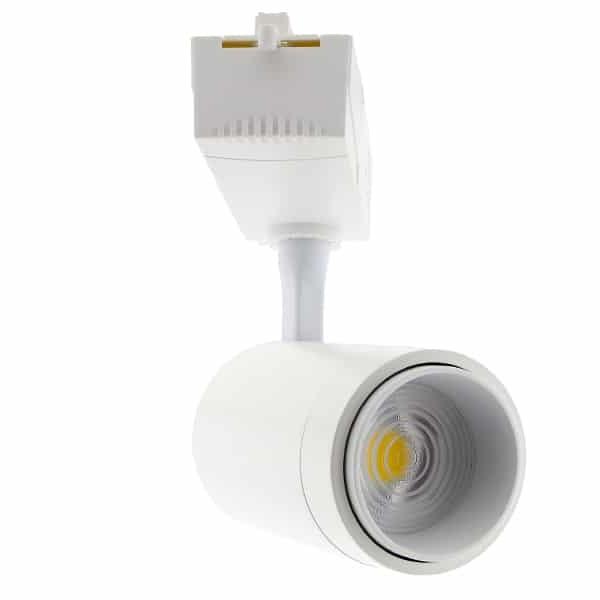Foco Carril Monofásico LED COB 35W con ángulo Regulable