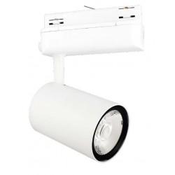 Foco Carril POLAR2 Trifásico LED COB 35W 24º Blanco