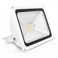 Foco LED exterior BASIC 50W SMD IP-65 Blanco