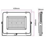 Foco Proyector LED exterior Slim Blanco NEOLINE Pro VT 200W IP65 SMD