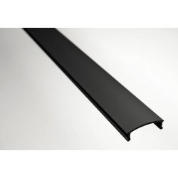 Disufor Negro para Perfil Aluminio Superficie LINE, barra de 2 ó 3 Metros