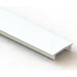 Disufor Opal para Perfil Aluminio Superficie LINE, barra de 2 ó 3 Metros