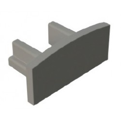 Tapa Final para Perfil Aluminio Superficie LINE PS1707P
