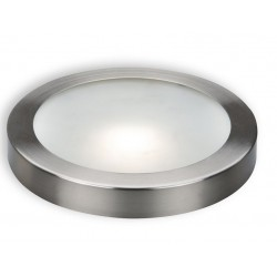 Downlight panel Redondo LED Superficie Cromado 18W Blanco Frío